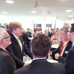 Hoe het koninklijk bezoek Nederland en Duitsland dichter bij elkaar brengt rond Smart Industry