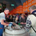 Bezoekers Grüne Woche vertellen waarom ze het liefste Nederlandse vis willen